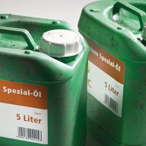 Etiketter for flasker, bokser og beholdere
