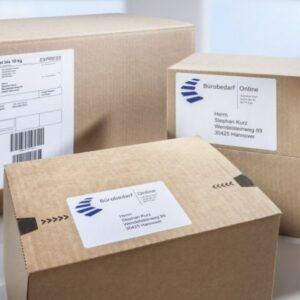 Forsendelsesetiketter i XL pakke