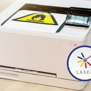 Laserskriveretiketter