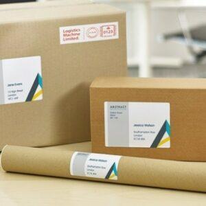 Adresse- og forsendelsesetiketter